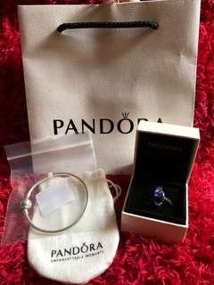 Pandora bangle & charm bundle(repriced)
