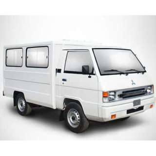4wheeler L300 Van (8ft x 4ft x 4ft)