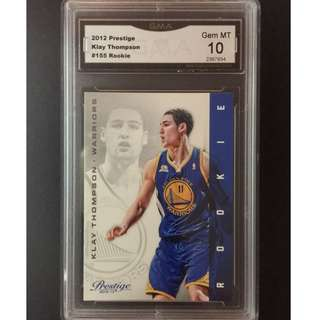 Klay Thompson Rookie Card 2012 Prestige GS Warriors Original