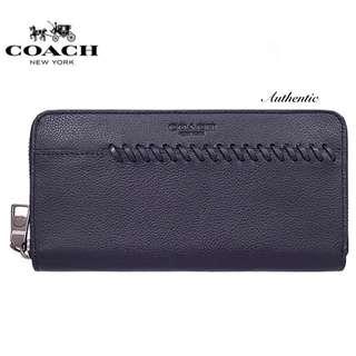 Coach - Accordion Baseball Stitch Long Wallet