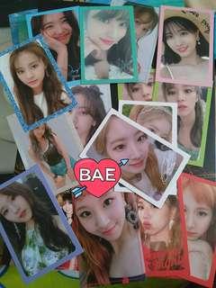 WTT Twice photocards