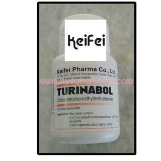 Turinabol Keifei 10mg 100tabs, Originality Guarantee