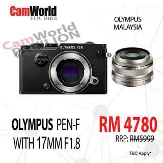 OLYMPUS PEN-F + 17MM F1.8