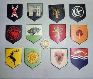 Game of Thrones Sticker Set