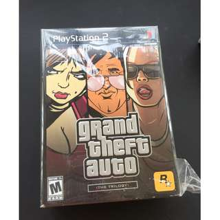 Grand Theft Auto Trilogy PS2