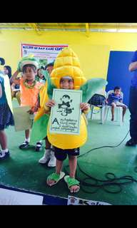 Nutrition month costume