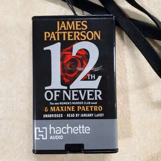 12th of Never Portable Audio Book