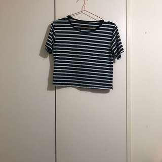 Striped crop 10 12