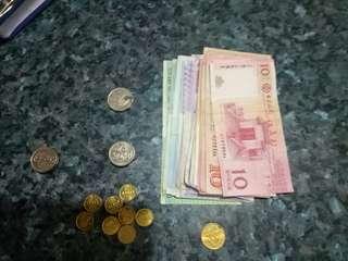 🚚 澳門幣。人民幣。澳門