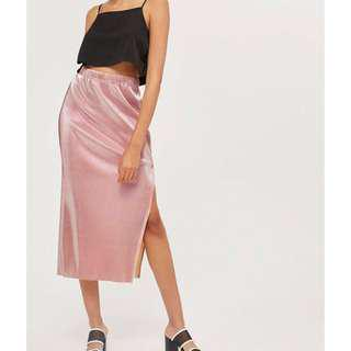 Topshop Pleated Skirt