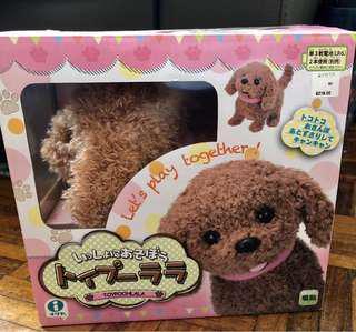 全新 Toy Poodle 可愛小狗玩具 會走會吠會擺尾