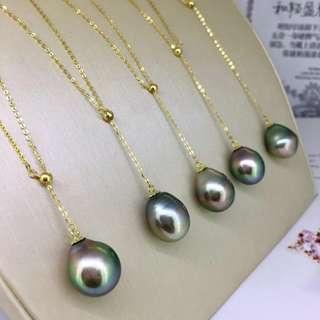 最性感的18k調節鏈款 大溪地黑珍珠11到12M,暈彩美強光澤微瑕。 💃🏻🔊🉐1xxx 歡迎咨詢訂購😊