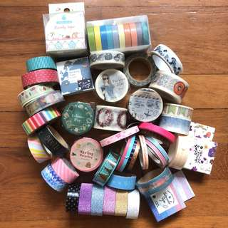 [SALE] Washi Tapes