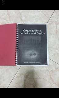 Ab1601 free bible included organisational behaviour and design