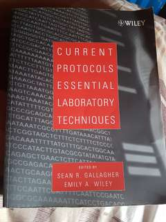 Current Protocols Essential Laboratory Techniques