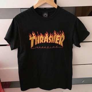 Thrasher tee t shirt 衫