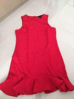 Forever 21 dress red