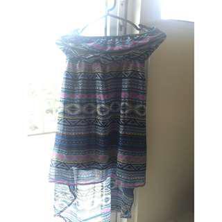 Terranova High Low Tube Dress