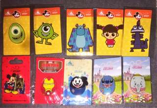 Disney Pin 迪士尼徽章 MA限定 PIN MU 怪獸大學 毛毛 大眼仔 Boo iron man mickey Oswald