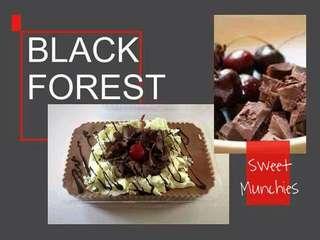Black Forest Graham Cake