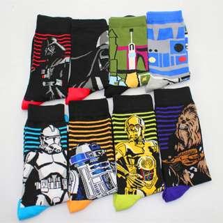 🚚 BYSO7 Star wars cute socks 2!