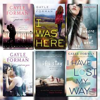 Gayle Forman Ebooks for 5PHP