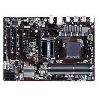 🚚 技嘉GA-970A-D3P全固態AM3+高階主機板、雙PCI-E顯示插槽、USB3.0、支援FX、Phenom系列處理器
