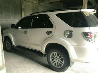 TOYOTA FORTUNER 2014 model (4x2)