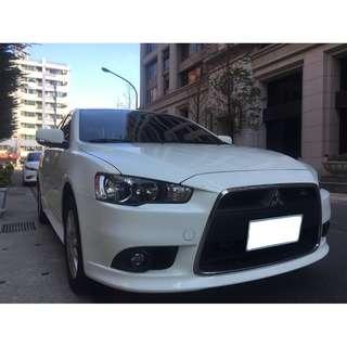 <小馬愛車> 2013 Mitsubishi Fortis 1.8 白