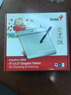 "Genius EasyPen i450X 4"" x 5.5"" Graphic Tablet for Drawing & Painting"