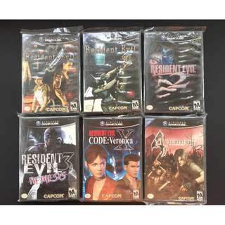 Resident Evil Complete Gamecube Collection