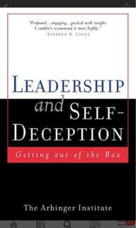 🚚 Leadership and Self-deception