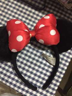 Authentic Minnie Mouse headband