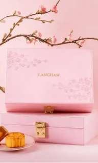 朗廷月餅2018 迷你金黃奶黃月餅 6件裝 mooncake by the Langham 月餅代購 零售或大量