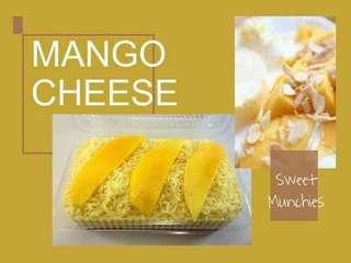 Mango Cheese Graham Cake