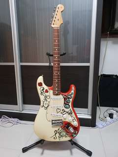 Jimi Hendrix Fender Montery stratocaster