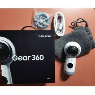 Samsung Gear 360(2017) 高畫質4k全景360度拍攝相機