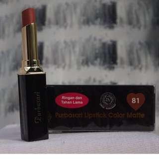 Lipstik Purbasari Color Matte Shade 81