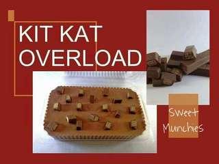 Kitkat Overload Graham Cake