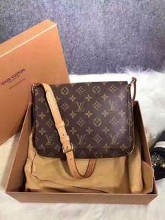 LV Flap Crossbody Bag