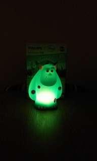 全新 正貨 Philips 飛利浦 Disney 迪士尼 怪獸公司 毛毛 LED 夜光燈 (清貨)