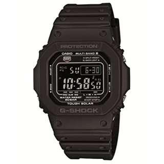 CASIO GW-M5610-1BJF電波太陽能手錶   全新貨   數量有限!!!