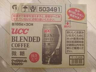 UCC 微糖咖啡一箱(元朗站)