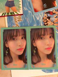 (WTT) TWICE Mina Summer Nights Photocard