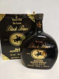 Black Prince 17 Years Old Scotch Whisky 黑皇子陶瓷威士忌 750ml