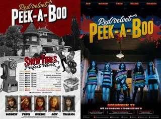 Official Poster Red Velvet Peek A Boo (The Perfect Velvet)
