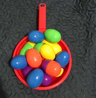 Eggs and Pan Baby toys