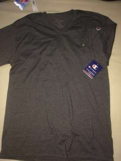 Champion T Shirt Gray