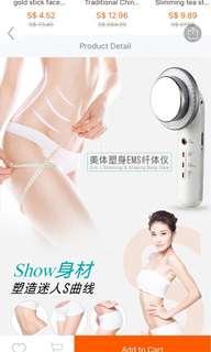 🚚 Ultrasonic cavitation Home portable slimming device