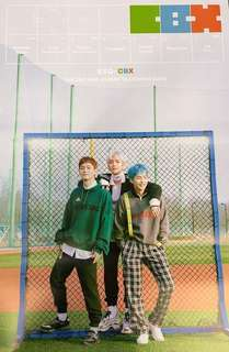 Official Poster EXO-CBX Blooming Days